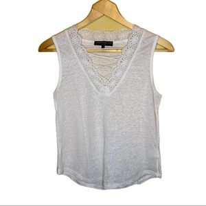 Generation Love Lace Up Lace Tank Top Size XS